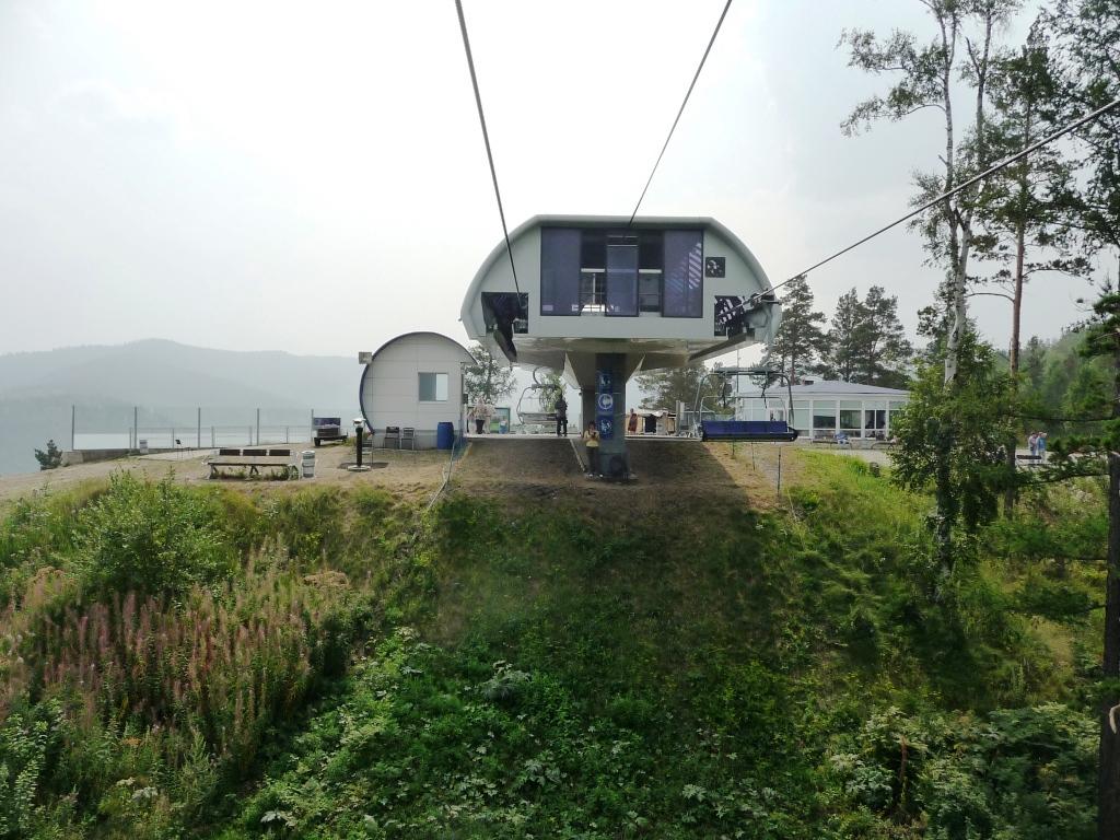 Бобровый лог, Канатно-кресельная дорога К1